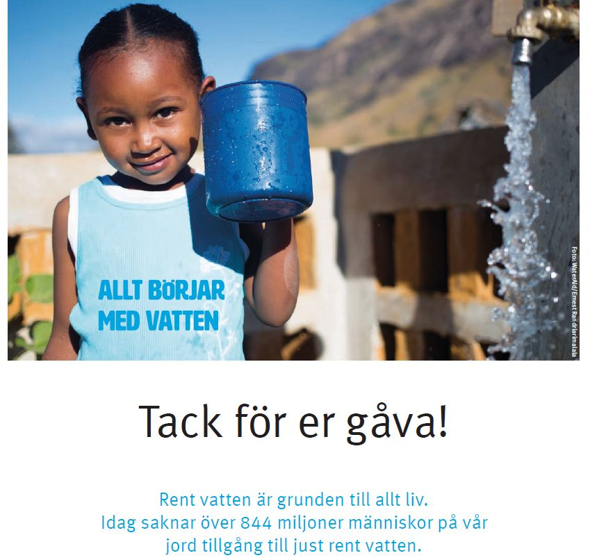 upKeeper for WaterAid