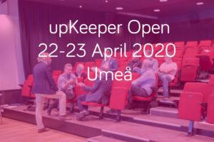 upK Open 22-23 april 2020