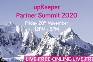 upKeeper partner summit 2020